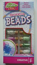 Perles - Douze fioles pour création de bijoux