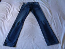 Replay Distressed Rise 34L Jeans for Men
