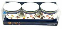 Disney Parks Mickey Minnie Mouse Snack Icon Appetizer Set Bowls Serving Tray NWT