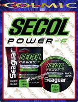 Seaguar SECOL Fluorcarbon puro 100% made in japan ø0,10->ø0,52mm 50mt.