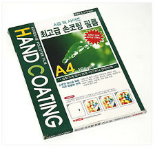 10 Sheets x A4 Cold Laminating Pouch Film Hand Coating Adhesive Paper 226x313mm