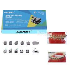 Dental Orthodontic Self Ligating Brackets Mini Roth022 Hook 345ampbuccal Tube