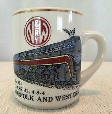 N&W Norfolk & Western Railway RR Railroad Class J1 4-8-4 No. 611 Coffee Mug