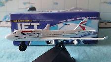 avion British Airways blanc 1/600 JET LINER A8011012B avion miniature collection