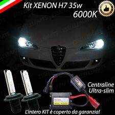 KIT XENON XENO H7 6000 K 35W PER ALFA ROMEO 147 RESTYLING ULTRALUMINOSI GARANZIA