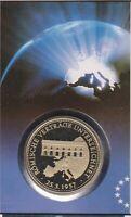 Numisbrief Deutschland Europa wächst zusammen 100 Pfg Briefmarke Stempel Berlin