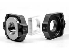 Works Elite Axle Block Kit Black Aluminum/Titanium 17-460