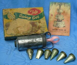 Vintage TALA Icing Decorating Kit