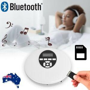Digital Bluetooth CD Player Music Player Walkman LCD Display USB FM Speaker