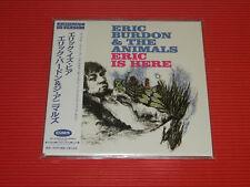 ERIC BURDON & THE ANIMALS ERIC IS HERE WITH BONUS TRACKS  JAPAN MINI LP CD