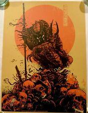 Predator Hunter Red Godmachine Poster Limited Edition Silkscreen Print Art