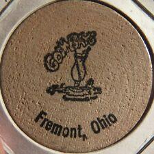 Vintage Goombay's Fremont, OH Wooden Nickel - Token Ohio