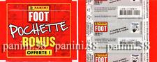 "RARE ! Pochette BONUS EDITION ""FRENCH FOOT 16-17"" packet, tüte, bustina PANINI"