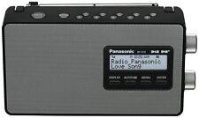 Panasonic RF-D10GN-K DAB+/FM Portable Digital Radio - Black