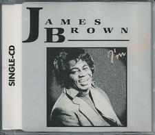 "JAMES BROWN - I'm real 3"" CD SINGLE 5""CASE Germany 1988 RARE!"