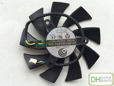 New 87mm VGA Fan For MSI Geforce GTX 460 Radeon HD 6850 Cyclone Fan PLA09215B12H