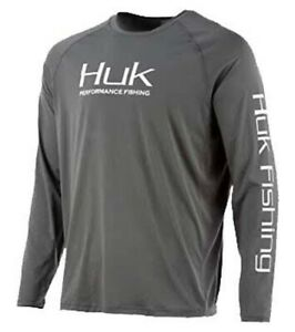 Huk Men's Pursuit Vented Breathable Long Sleeve Shirt