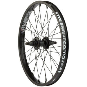 STOLEN BMX BIKE RAMPAGE CASSETTE BICYCLE WHEEL BLACK RHD 9T
