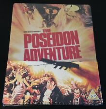 THE POSEIDON ADVENTURE Blu-Ray SteelBook UK Ltd Ed. Region Free. New OOP & Rare!