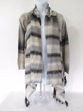 MAURICES Womens Thin Knit Fringe Open Front Cardigan Sweater, size M