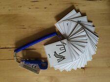 PECS/Boardmaker 30 card Starter Key Ring for autism/ASD/ADHD/SEN/Aspergers