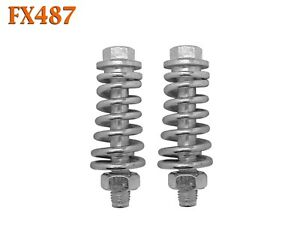 FX487 Exhaust Spring Bolt Stud & Nut Hardware Repair Replacement Kit