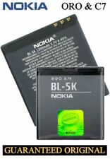 Original Replacement Battery Nokia Oro c7 c7-00 n85 n86 x7 x7-00 701 8mp Battery bl-5k