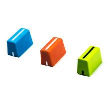 3x Green Blue Orange Fader Cap Knobs RANE TTM 72 57 62 56 56S 57SL 62 61 52 54