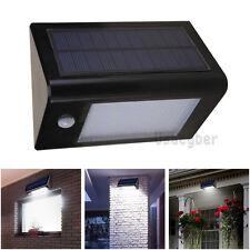 Black 20 LED Solar Powerd Motion Sensor Light Outdoor Wall/Yard outside Lamp US