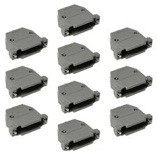 10x 25 Pin DB25 D-SUB Plastic Housing for RS232 Serial Port Solder Cup Connector