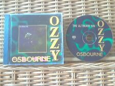 OZZY OSBOURNE-The Ultimate Sin CD **RARE bootleg-NO BAR CODE** PIC DISC **