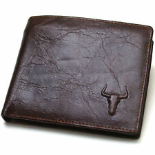 Genuine Leather mens Wallet 2 Zippered pockets handmade FREE EXPRESS POST