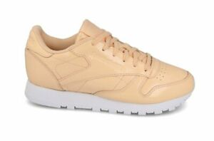 Reebok Classic CL Leather Patent Size 4 Pink RRP £80 Brand New CN0771 RARE