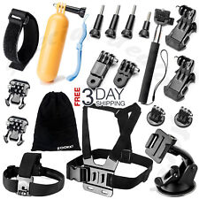 All-in-1 Essentials Accessories Kit for GoPro Hero 5/4/3/2/1 Session Hero LCD