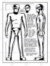 Film costume design film 1951 tenue cosmonaute gort fine art poster CC3121