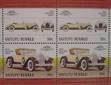 1930 PACKARD EIGHT 8 Car 50-Stamp Sheet / Auto 100 Leaders of the World