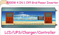 4 IN 1 OFF Grid 8000W LF SP PSW Power Inverter 24V DC/110V,220V AC/2400W Solar
