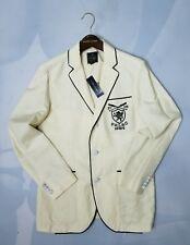 $495 Polo Ralph Lauren Men's Natural Radcliffe LINEN Sport Coat/Blazer SZ:40-R
