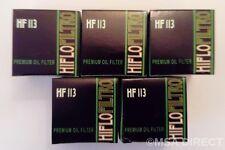 Honda TRX400 ex/Sportrax (de 99 a 08) HIFLOFILTRO FILTRO DE ACEITE (HF113) X 5 Pack