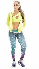 Fiber Activewear Brazilian/Colombian Legging Pants Gym Workout Sportwear!!!