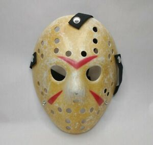Friday The 13th Jason Voorhees Halloween Costume Mask Cosplay New Adult One Size