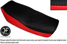 RED & BLACK AUTOMOTIVE VINYL CUSTOM FITS KAWASAKI Z 550 F 81-85 DUAL SEAT COVER