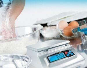 Bilancia per Cucina Professionale KD7000 Capacità 7Kg Preciso 1gr Grigio Myweigh