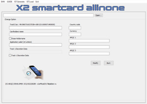 EMV X2 Smart Card Chip Software SMARTCARDALLINONE ARQC