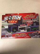 New Sonix City Car Wash W/ 1 Add On Building & 1 Micro Vehicle