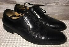 Mezlan Made In Spain Mens Black Leather Dress Shoes Size 12B(29845)