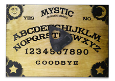 A4 Wooden Mystic Oracle Ouija Board, Classic Sun, Moon & Stars with Planchette