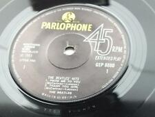 THE BEATLES HITS 1969 SOLID CENTRE GRAMOPHONE  NON FLIP OVER SLEEVE  EXCELLENT +