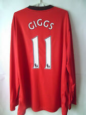 EXCELLENT!!!! GIGGS !!! 2009-10 Manchester United Home Shirt Jersey Trikot XXL
