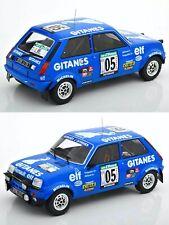 1/18 Ixo Renault 5 Alpine N°5 Frequelin/Delaval Rallye Bandama 1978 Neuf